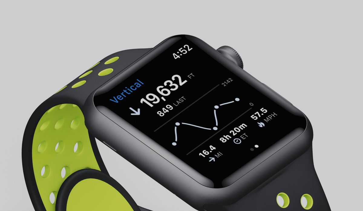 Slopes Pro Tip: Record on Apple Watch